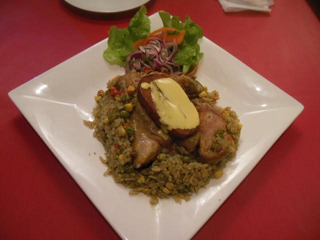 La Cocina Peruana, Randwick, arroz con pollo