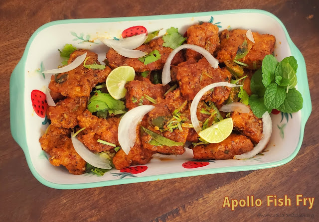 images of Apollo Fish Fry Recipe / Apollo Fish Fry / Hyderabad Style Fried Fish / Restaurant Style Apollo Fish Fry