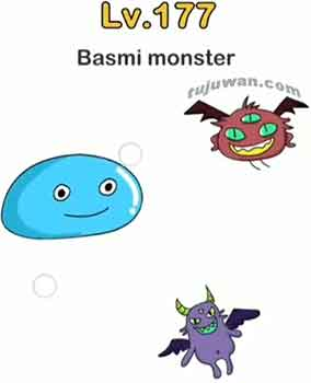kunci jawaban brain out basmi monster di level 177