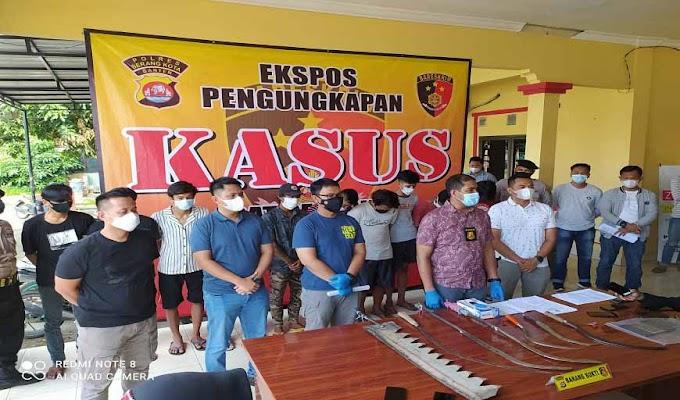 Resahkan Masyarakat, 10 Remaja Anggota Geng Motor All Star Diamankan Jajaran Polda Banten