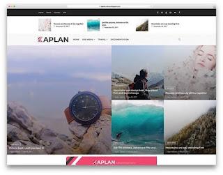 Kaplan blogger template
