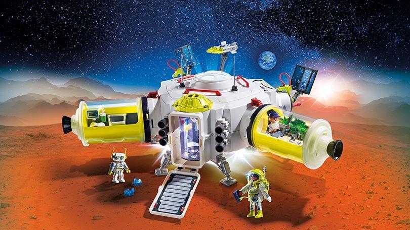 Космическая станция на Марсе игровой набор для мальчиков Playmobil
