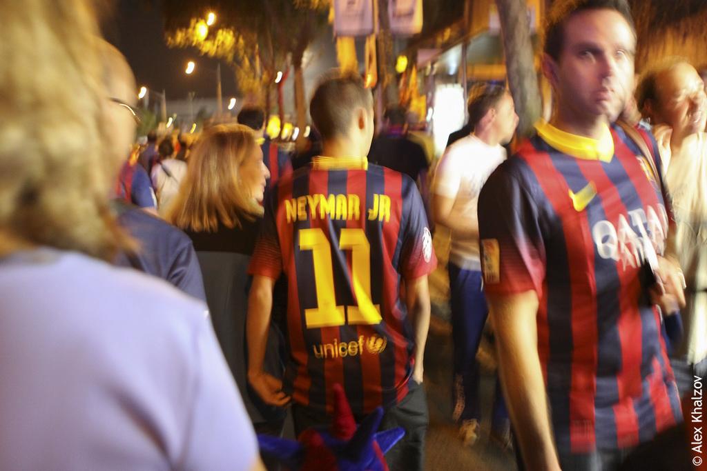 Неймар в Каталонии