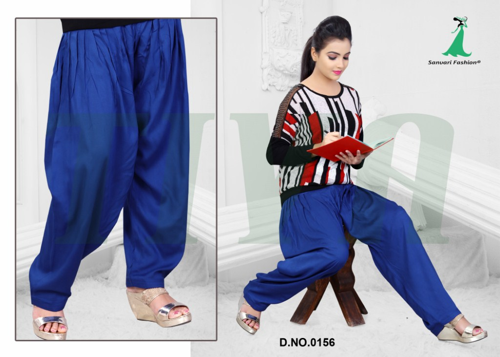 Tiva – Latest New Designer Patiala Bottom Wear