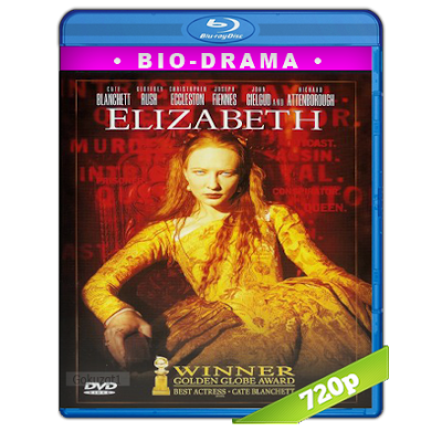 Elizabeth La Reina Virgen (1998) BRRip 720p Audio Trial Latino-Castellano-Ingles 5.1