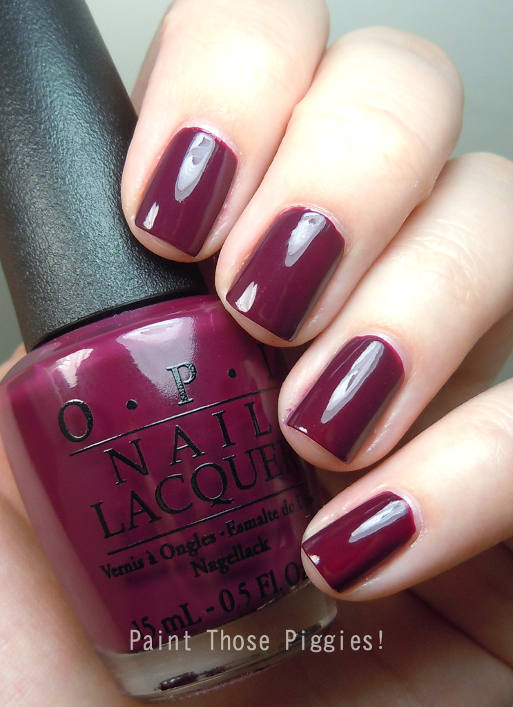 Opi In The Spot Light Pink: Paint Those Piggies!: OPI In The Cable Car-Pool Lane