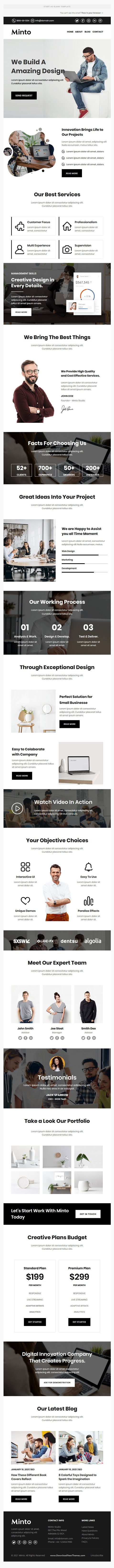 Agency Multipurpose Responsive Email Template