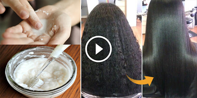 How To Make The Hair Permanently Straight By Using Only 1 Igredient