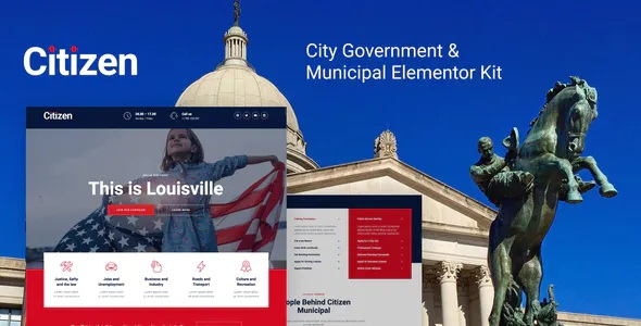City Government & Municipal Elementor Kit