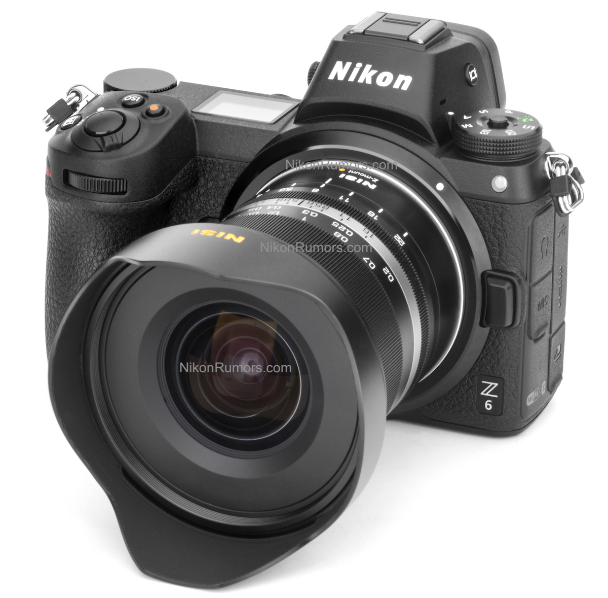 Объектив NiSi с камерой Nikon