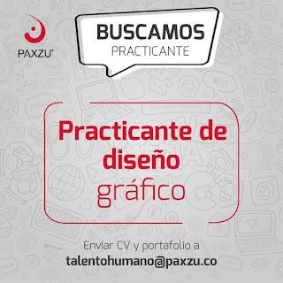 Oferta de Trabajo en Bogota como Practicante Diseño Grafico