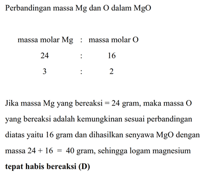 Pernyataan Berikut Yang Tidak Benar Tentang Magnesium ...