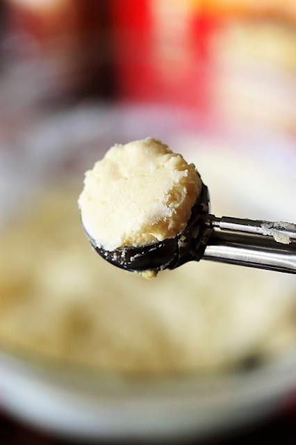 Scoop of Cake Mix Snickerdoodles Cookie Dough Image