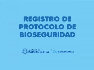Formulario reactivación economica en Barranquilla
