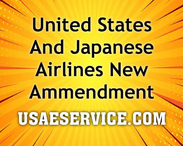United States And Japan Airlines Agreement