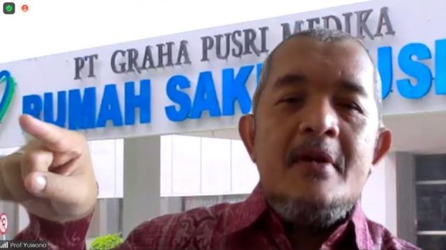 Prof Yuwono: Orang yang Punya Penyakit Jangan Divaksin, Ujung-ujungnya Masuk ICU!