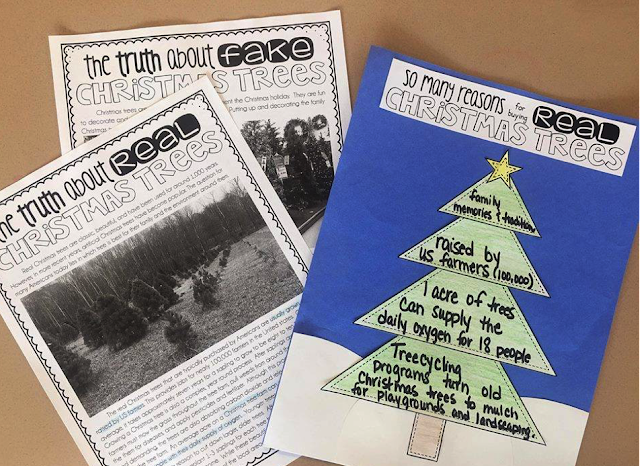 December doesn't have to be an insane or stressful time for your classroom. Making December special with your kids will be fun with these ideas and printable. Whether you grab the FREE party invites or the printable Christmas tree reading activity, you're sure to have your elementary students attention! Creating engagement before winter break can be difficult but using these ideas help bring everyone together a December to remember! {3rd,4th,5th, FREEBIE, printable, holiday}