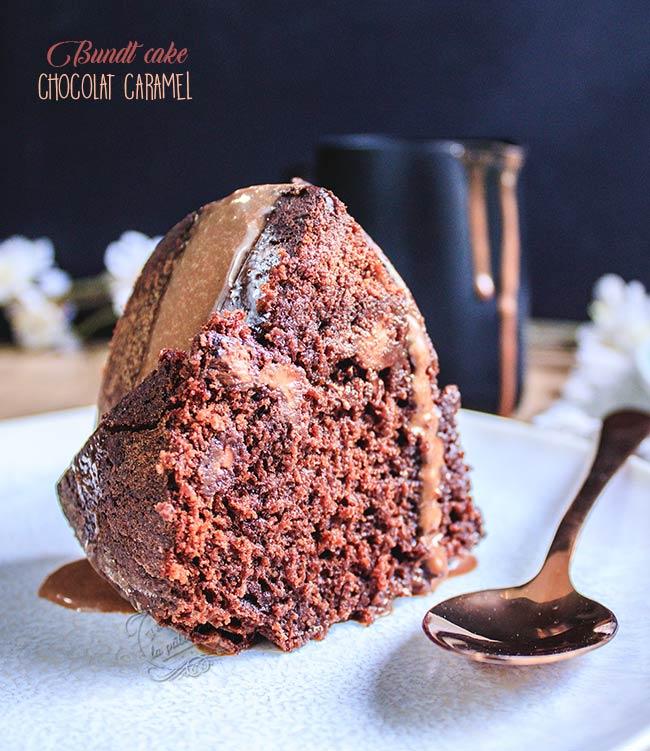 gateau chocolat caramel recette facile