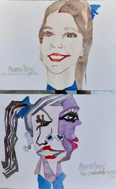 """<alt=""""Cómo pintar un retrato cubista""""/>"""
