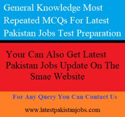 The Most Important Test Preparation MCQs Jobs Read Before Going For Test PPSC, FPSC, OTS, NTS, And UTS