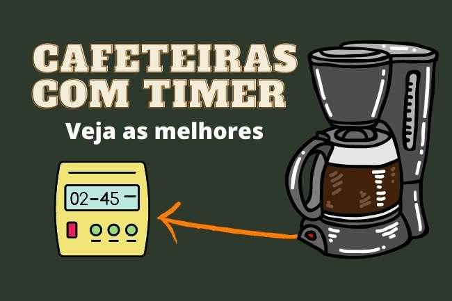 Melhores cafeteiras com timer programáveis