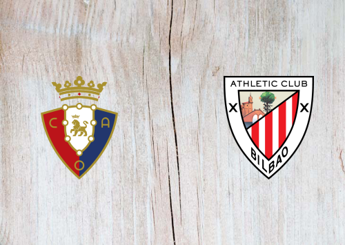 Osasuna vs Athletic Club -Highlights 24 October 2020