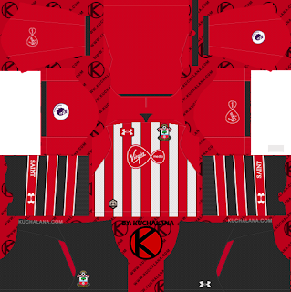 Southampton FC 2018/19 Kit - Dream League Soccer Kits