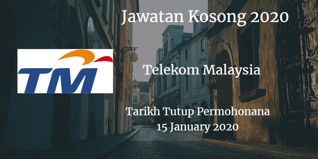 Jawatan Kosong TM 15 January 2020
