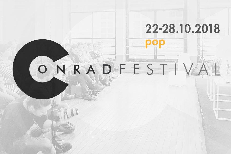 Conrad Festival 2018 - POP rozkład jazdy