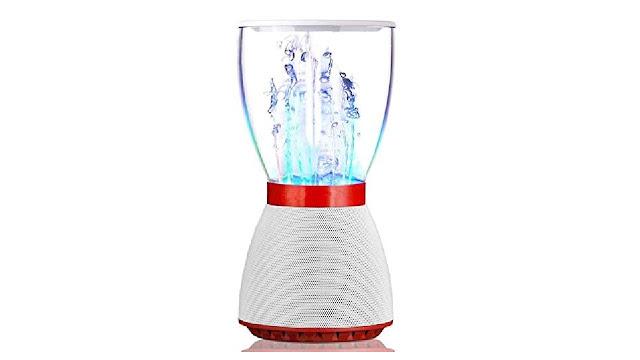 SPLY DTEM Wireless Bluetooth Speaker Water Dancing Water