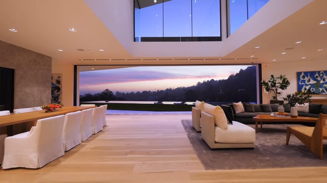 76 Interior Photos vs. Tour 1259 Beverly Estate Dr, Beverly Hills, CA Ultra Luxury Modern Mansion (John Legend & Chrissy Teigen)