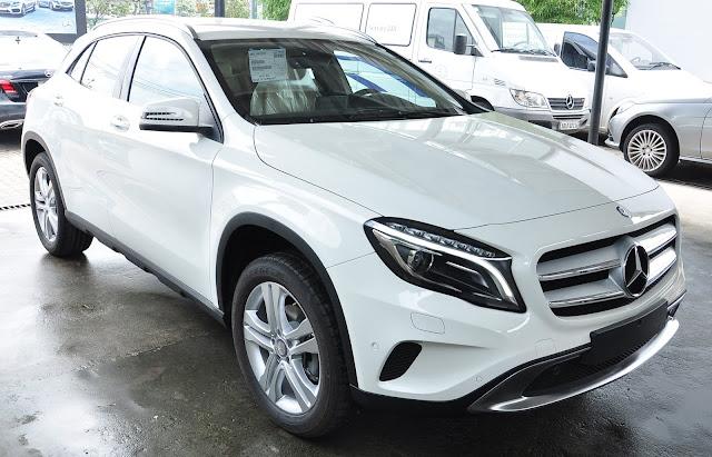 Mercedes GLA 200 sở hữu động cơ công nghệ tiên tiến