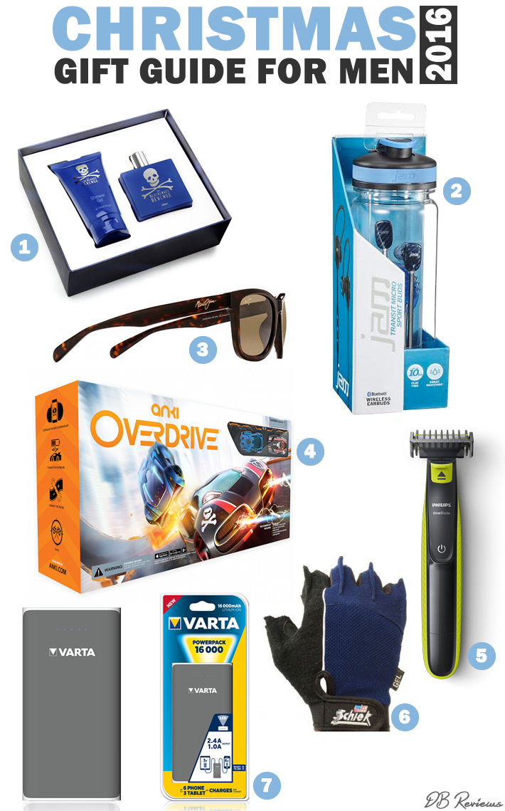 Mens gift guide for Christmas 2016