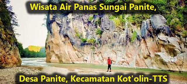 foto-foto Wisata Air Panas Sungai Panite, di  Desa Panite, Kecamatan Kot'olin, di TTS  (Credit Photo: Kaka Irene Isu Saudale)