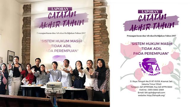Laporan Catatan Akhir Tahun LBH APIK Jakarta
