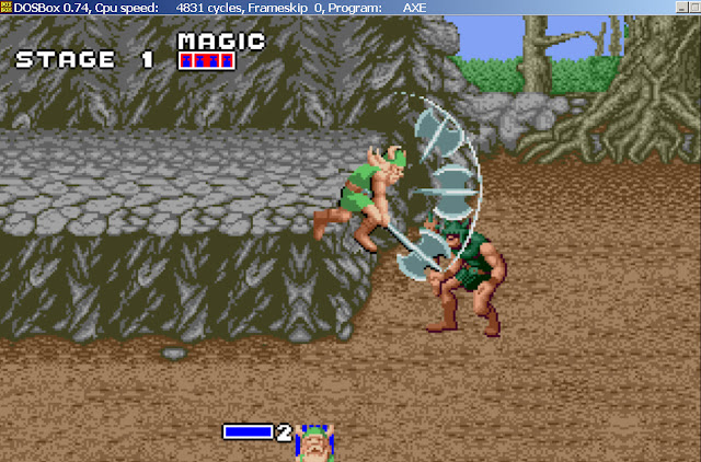 Golden Axe - Jump Strikes Screenshot