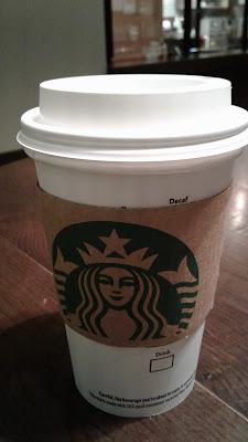 Starbucks tall Jade Citrus Mint hot tea