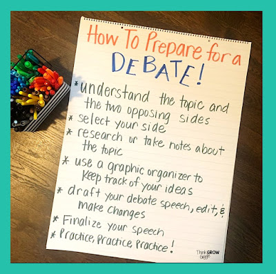 How to Hold Debates in Your Classroom