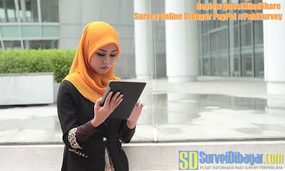 Review Quest MindShare Survey Online Dibayar PayPal | SurveiDibayar.com