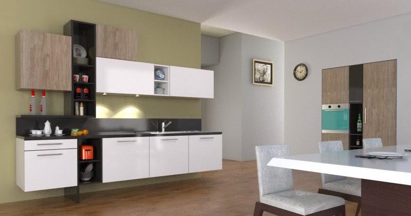 Kitchen Set 1511pi Mebel Minimalis