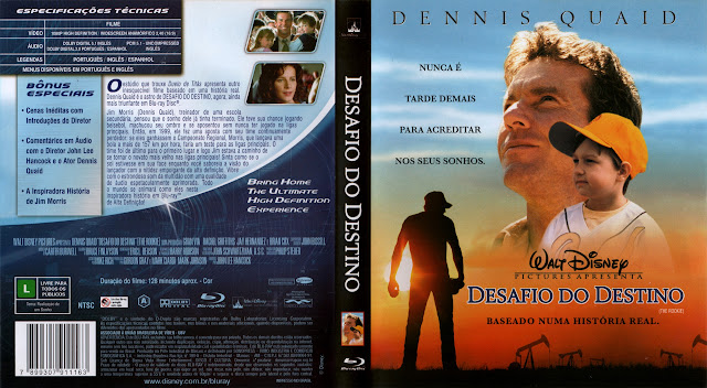 Capa Bluray Desafio Do Destino