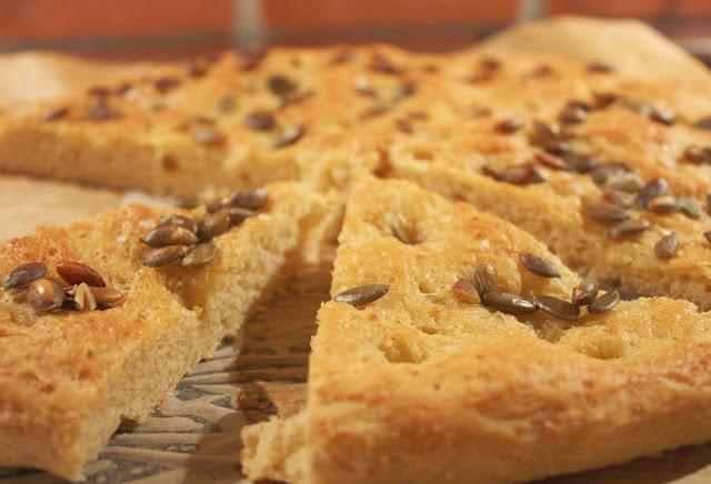 peltirieska focaccia kurpitsansiemen leivonta mallaspulla leipä