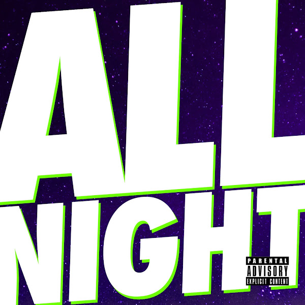 Juicy J & Wiz Khalifa - All Night - Single Cover