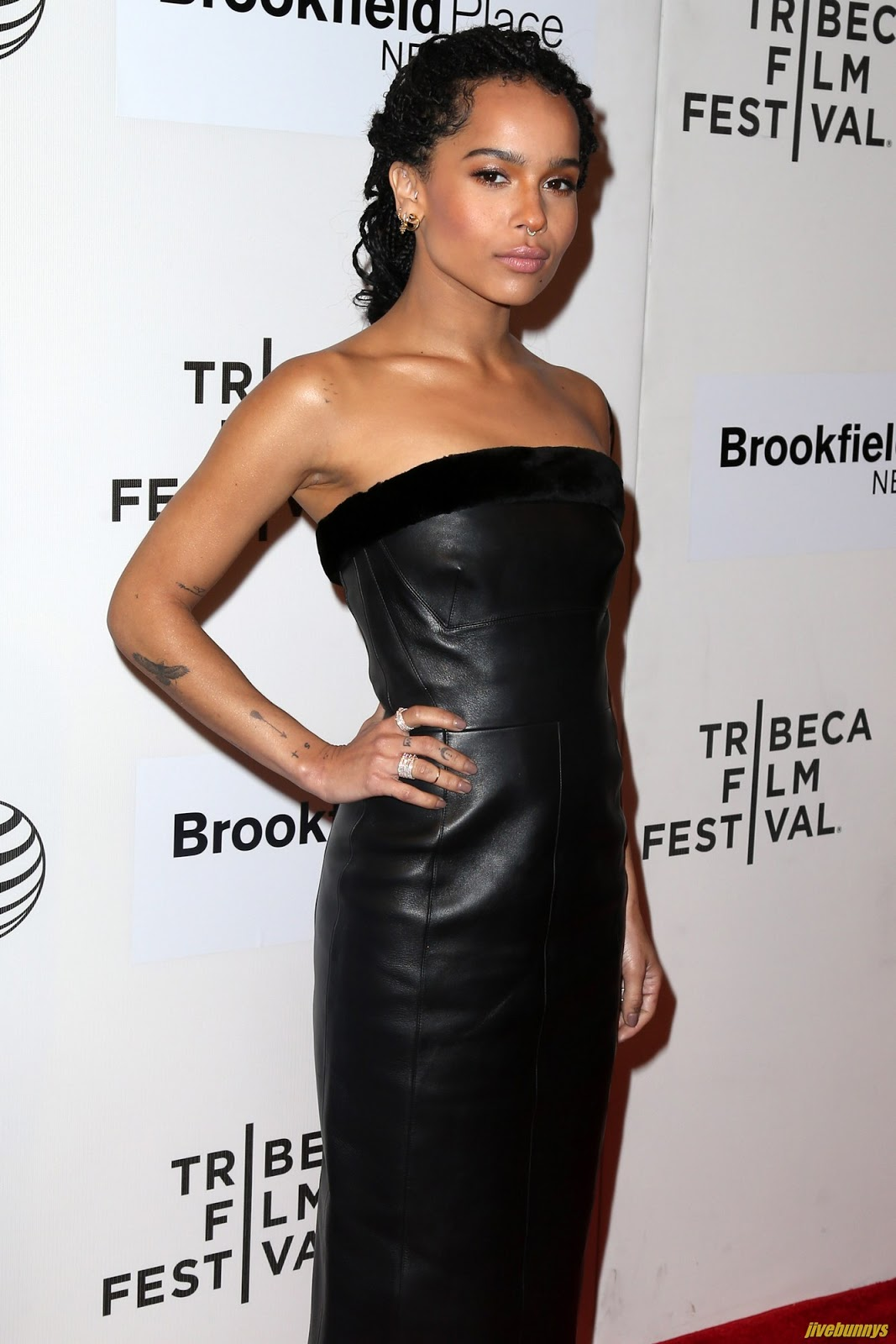 "Zoe Kravitz - 2015 Tribeca Film Festival - U.S. Premiere Narrative: ""Good Kill"" 4/19/2015"