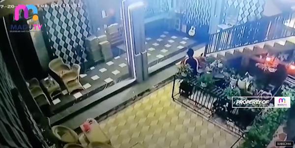 Maling Dihajar Massa Akibat Kepergok Bobol Kafe