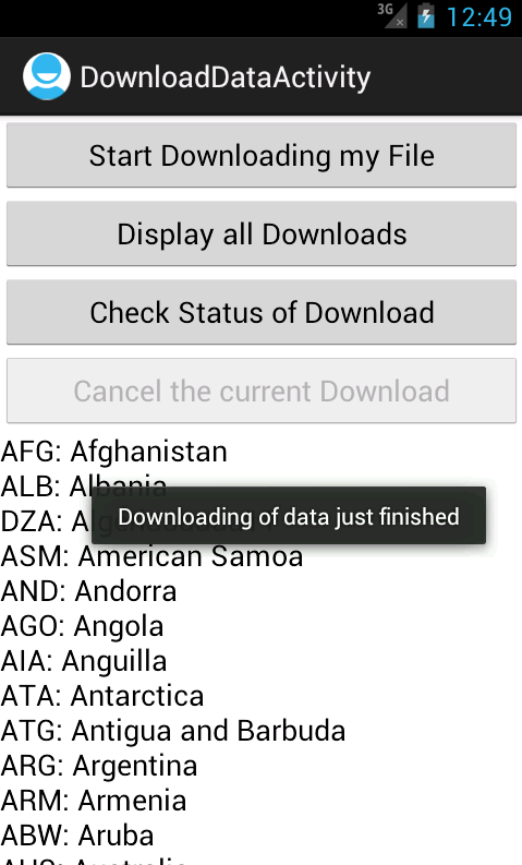 Programmers Sample Guide: Android DownloadManager Example