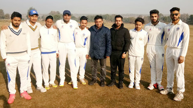 Delight Cricket Club defeated Mewat Aravali Cricket Academy by 4 wickets