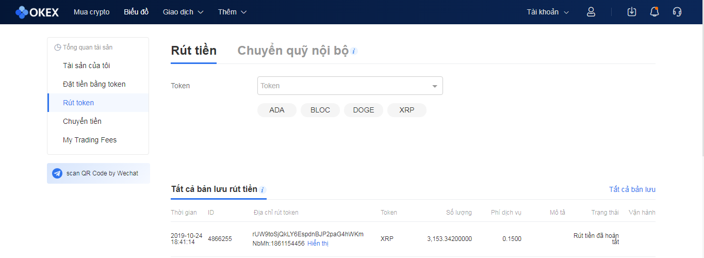 okex withdraw Sàn OKEx là gì? cách đăng ký sàn OKEx và xác minh tài khoản