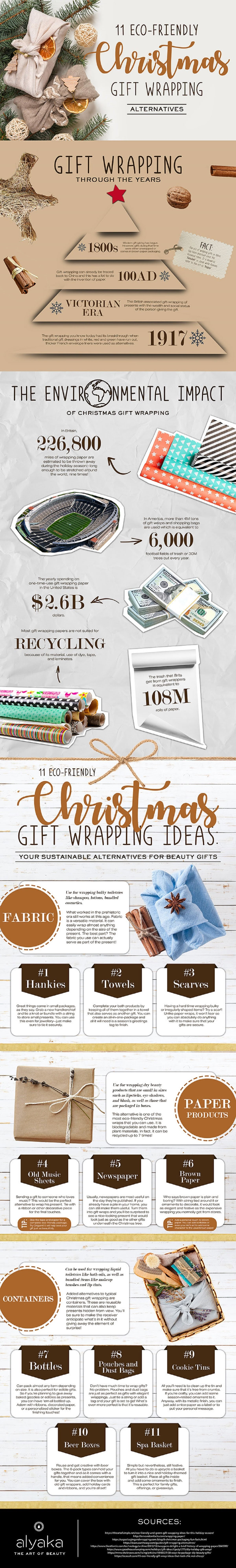 11-eco-friendly-christmas-wrapping-ideas-for-your-beauty-gifts-infographic