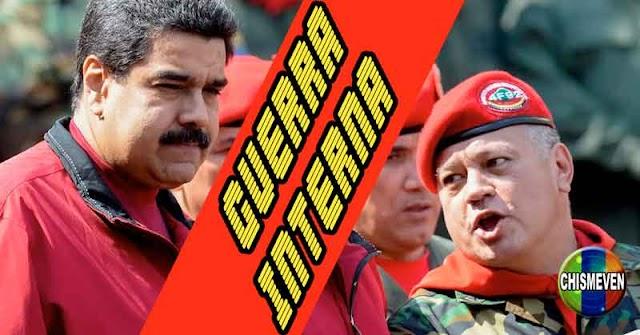Aseguran que se mantiene guerra por el poder entre Maduro y Diosdado